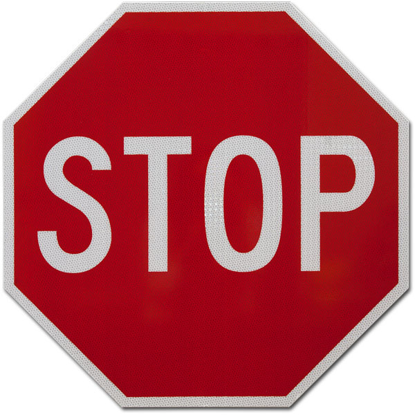 Stop sign Example